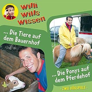 Die Tiere auf dem Bauernhof / Die Ponys auf dem Pferdehof Titelbild