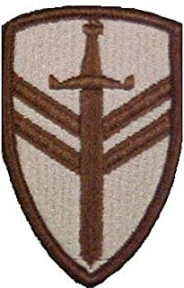 2nd Support Brigade Desert Patch