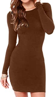 Best long sleeve tight dress Reviews