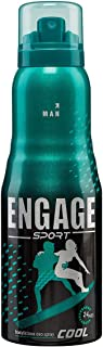 Engage Sport Cool for Him, Deodorant for Men, 150ml / 165ml