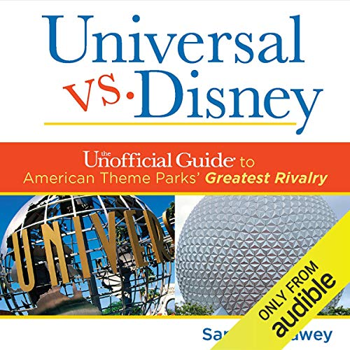 Universal Versus Disney audiobook cover art