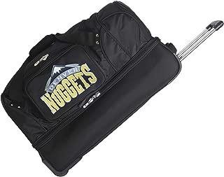 NBA Drop Bottom Rolling Duffel Luggage