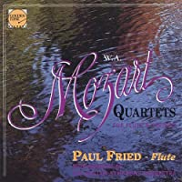 Mozart Flute Qts-Paul Fried & Members of the Bosto