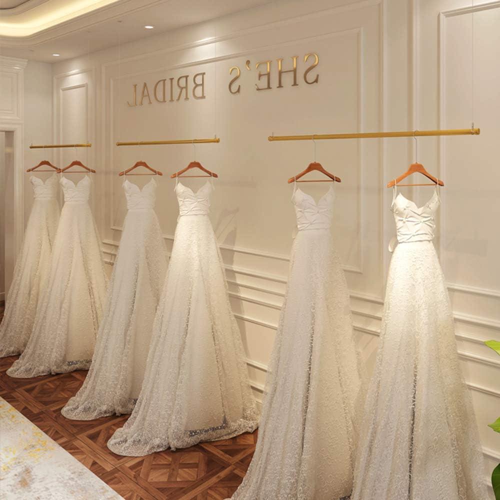 regolabile Appendiabiti sospeso,Appendiabiti da soffitto in metallo per abbigliamento professionale,Appendiabiti per negozio al dettaglio,Per gli scaffali di boutique//guardaroba//negozi per matrimoni