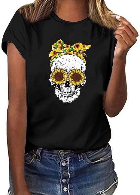 MIS1950s - Camiseta de manga corta para mujer, diseño de ...