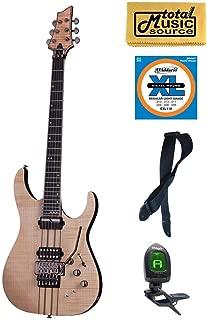 Schecter Banshee Elite-6 FR S Guitar, Bundle