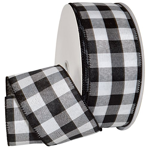 Buffalo Check Wire Ribbon