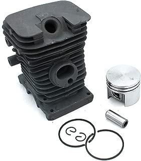 DLiQ Cylinder Head Piston Kit,Cylinder Piston Rebuild Assembly Kit for Stihl 017 MS170 Chainsaws 37mm
