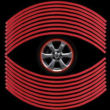 Alamor 2pcs Voiture Arri/ère Vue Miroir Autocollant Vinyl Stripe Autocollant Embl/ème Kk Pour Mercedes Benz-Blanc