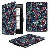 Fintie Kindle Paperwhite ケース 超薄 軽量 保護カバー オートスリープ機能付き (2016 NEW-Kindle Paperwhiteマンガモデル と 2012, 2013, 2015バージョン適応)(柄 キノコファンタジー)