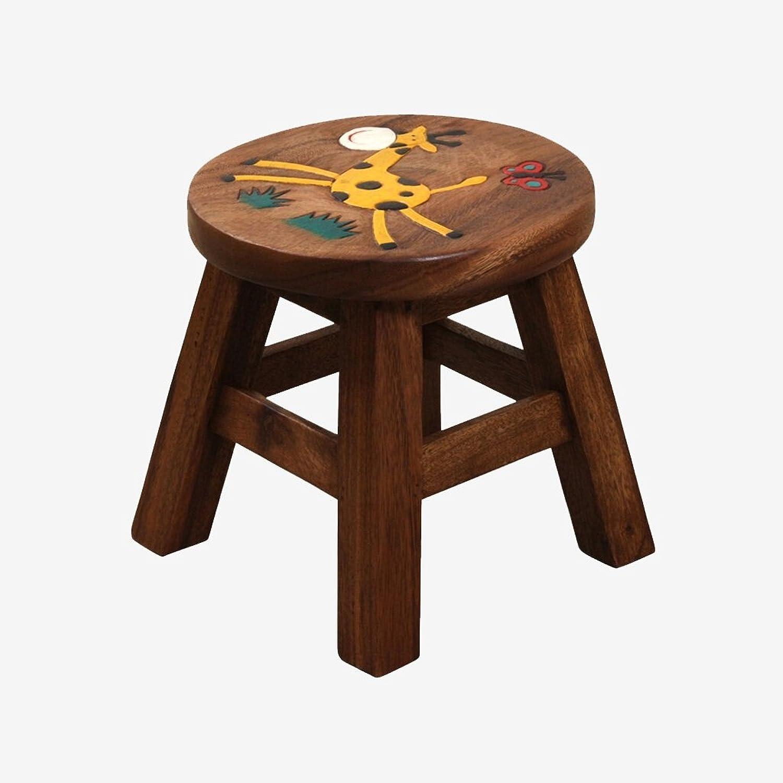 schuhe stool Chen- Chen- Chen- Kreativer Giraffen-Massivholz-Schemel, Netter Schemel-Korridortür, Ausgangsschuhlöffel B077XQPN19   Lebensecht  5a3c0f