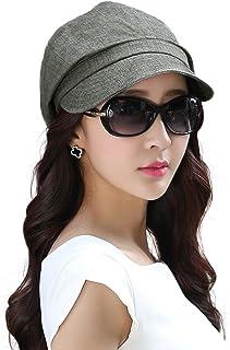 SIGGI Womens Newsboy Cabbie Beret Cap Cloche Cotton Painter Visor Hats  Summer 9bd2d3fd707