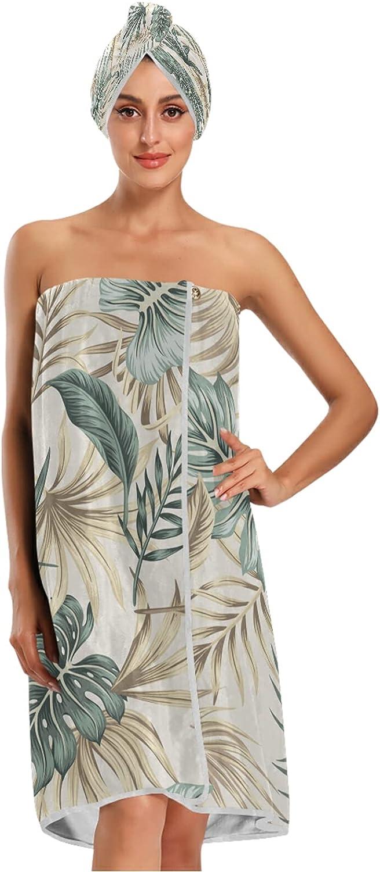 Max 70% OFF xigua Women Bath Towel safety Wrap Adjustab Set Shutterstock_1517647121