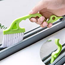 2pcs Hand-held Groove Gap Cleaning Tools Door Window Track Kitchen Cleaning Brushes(Green)