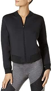 Womens Training Long Sleeves Athletic Jacket Black M
