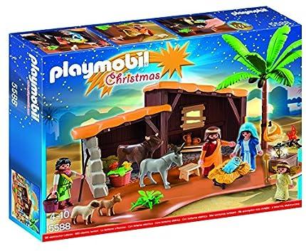 PLAYMOBIL Navidad Navidad-Playset Bel&ampeacuten (5588), 39.9 x 29.7 x 7.4