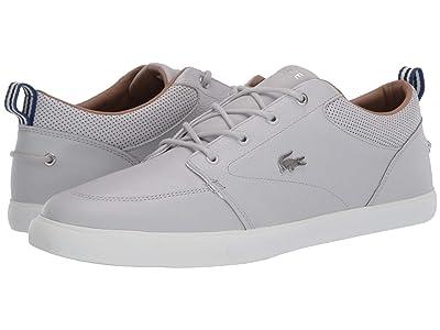 Lacoste Bayliss 120 1 U (Light Grey/Off-White) Men