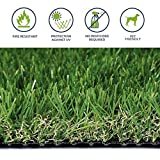 Auart Gazon Artificiel Herbe, Parfait for l'intérieur et du Paysage extérieur, Gazon for Chiens Tapis Gazon synthétique Paillasson Fausse Herbe (Color : 40mm, Size : 0.5mX2m)