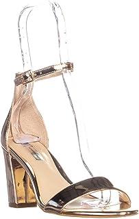 INC International Concepts I35 Kivah Ankle Strap Dress Sandals, Rose Gold, 9 US / 39 EU