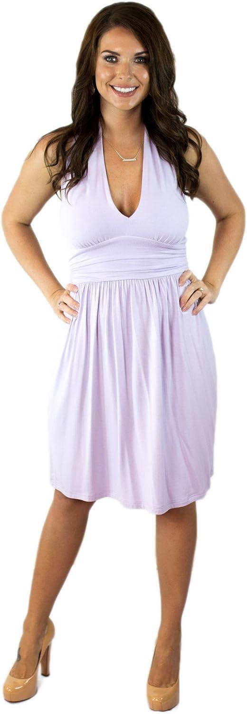 Charm Your Prince Women's Summer Halter Top Sundress