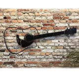 Acoustic Guitar - Metal Wall Art - Handmade Home Decor - Choose 24', 36' or 42' wide, Choose your Patina Color and from a Variety of Musical Symbols - Musical Decor