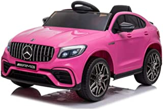 GLC Children's Electric Car With Remote Control, Two Motors and Rubber Tires, Ages 3-8 years, Pink