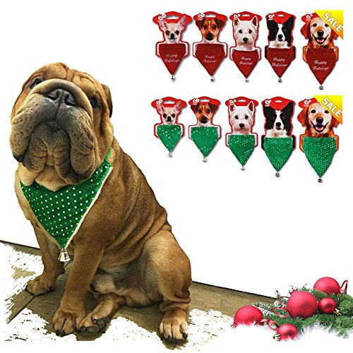 Doxtasy holiday noël dog bandana
