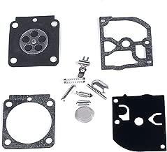 Anzac Carburetor Carb Rebuild Kit Gasket Diaphragm for ZAMA Carby C1Q-S80D C1Q-S93 C1Q-S93A C1Q-S95 C1Q-S97 C1Q-S97A C1Q-S97B C1Q-S157 C1Q-S157A Replaces RB-100 RB 100