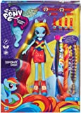My Little Pony - Rainbow Dash, muñeca con Larga cabellera (Hasbro A5044E24)