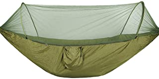 GYL SPORT Hamaca Doble para Acampar con mosquitera y Cubierta contra Lluvia para Caminatas Viajes Pesca HTM-007