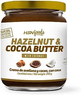 Crema de Avellanas y Cacao con Coco de HSN Foods   100%
