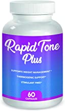 Rapid Tone Plus Weight Loss Supplement- Supports Rapid Fat Burn, Carb Blocking & Metabolism Boost- (1 Month Supply)