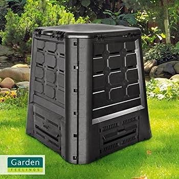 Garden Feelings Komposter 360 Liter Thermokomposter Gartenkomposter Amazon De Garten