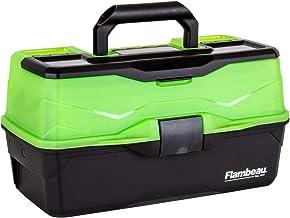 Flambeau Outdoors 3 Tray - Frost Green/Black