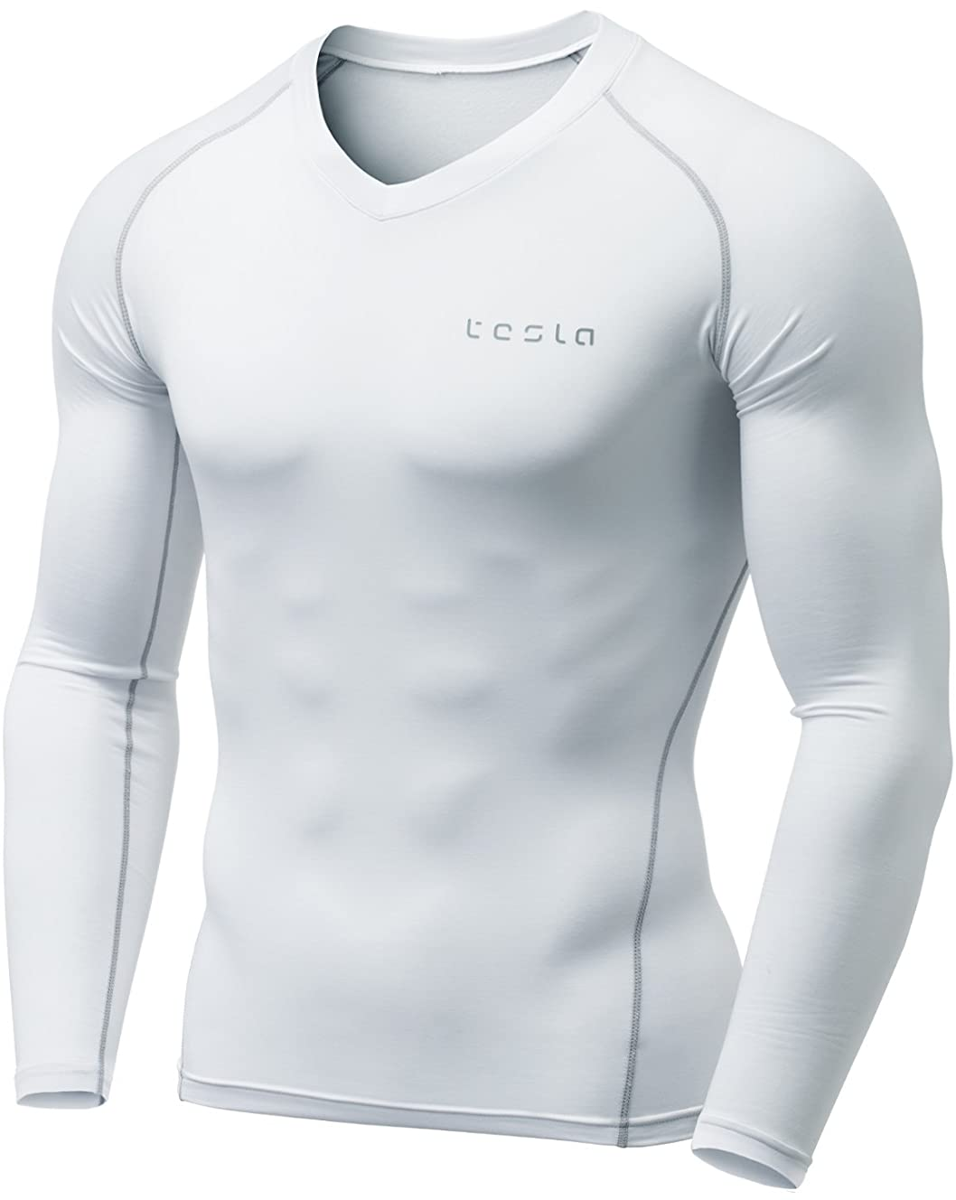 TSLA Men's Thermal Wintergear Compression Baselayer Tops
