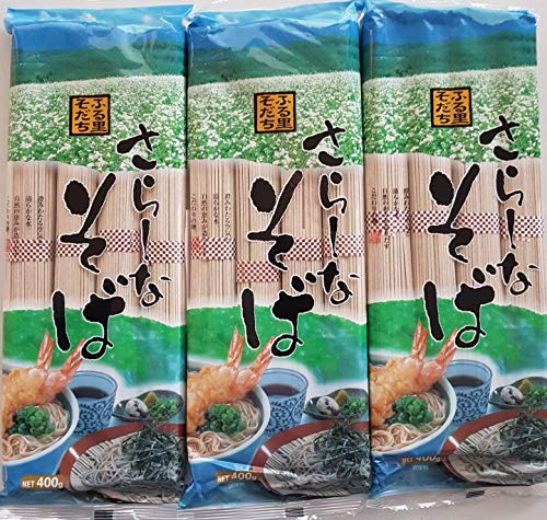 1200g japanische Soba Nudeln, Sobanudeln - Udonnudeln ohne Zusatzstoffe, Udon, Buchweizennudeln aus Japan
