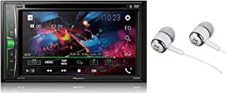 Pioneer in-Dash Double Din WVGA Display Built-in Bluetooth Multimedia DVD CD MP3 USB AM/FM Touchscreen Dual Phone Connecti... photo