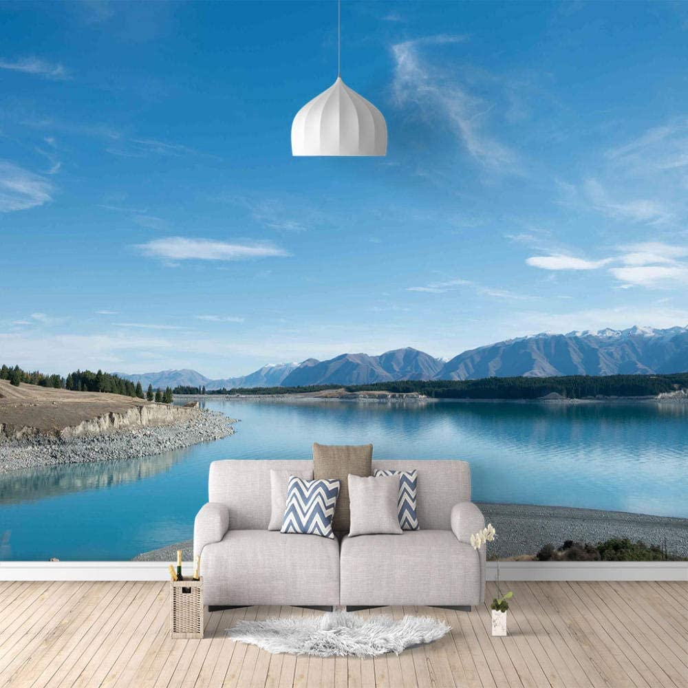 Wall Stickers and Murals Blue Lake 3D Decor Art Kids R 250X175Cm OFFicial store Limited time sale