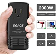 DOACE C8 2000W Travel Voltage Converter Step Down 220V to 110V for Hair Dryer Steam Iron, 8A...