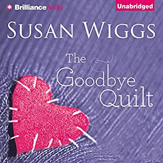 The Goodbye Quilt audiobook cover art
