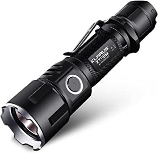 Klarus XT11GT 2000LM Waterproof LED Flashlight Cree Xhp35 Hd E4 Led Programmable Tactical Flashlight Beam Distance 1037Ft with 3100mAh Battery Holster Lanyard USB Charging Cable