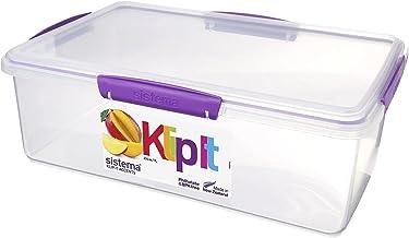Sistema Food Container, 7 Liter - Purple