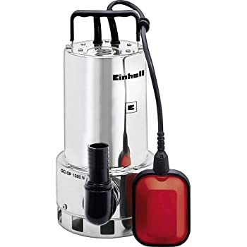 Einhell - GH-DP 1020 N - Bomba de aguas sucias  (1000W, capacidad de 18.000l/h, profundidad max. de 5m, conexión de manguera 47.8mm) (ref. 4170773)