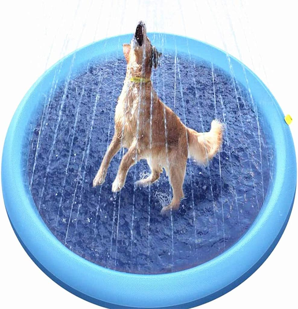 San Jose Mall Splash Pad and Sprinkler Mat Water 150cm Upgraded Inf Play Max 63% OFF Mats