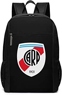 Mochila Mochila de Viaje River Plate FC Backpack Laptop Backpack School Bag Travel Backpack 17 Inch