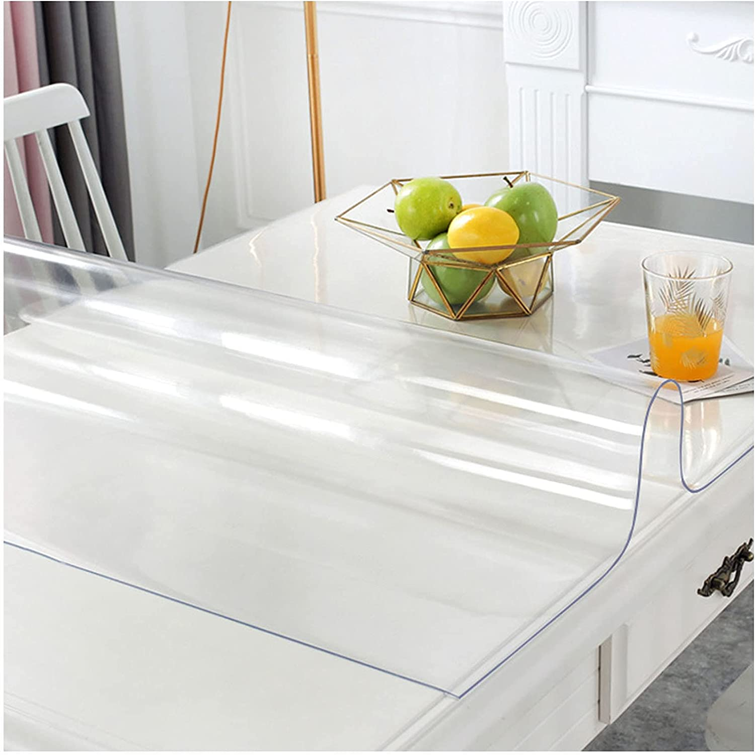 LKDF Waterproof Table Purchase Max 82% OFF Cloth Transparent Protector
