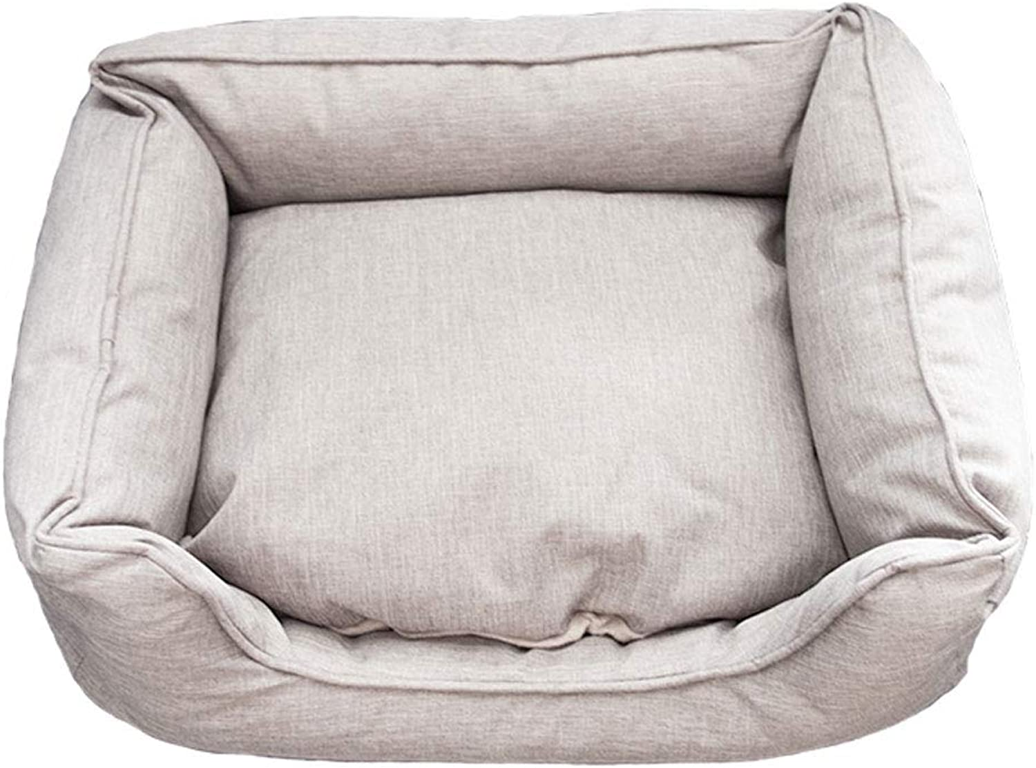 NYJ Dog bed, large super soft warm washable small medium and large pets can be washed, pet supplies keep warm simple style