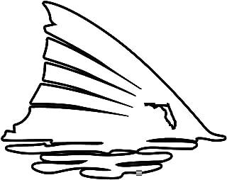 Air Padre Florida Redfish Tail Vinyl Decal