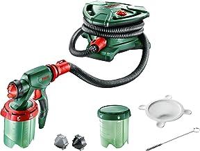 Bosch PFS 5000 E Verfspuitsysteem, 1200 Watt, Voor Lak/Lazuur/Wandverf, Zwart/Groen/Rood