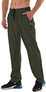Men's Elastic Waist Hiking Pants Water Resistant...